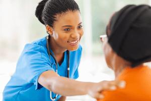 Nurse with Patient_Medium